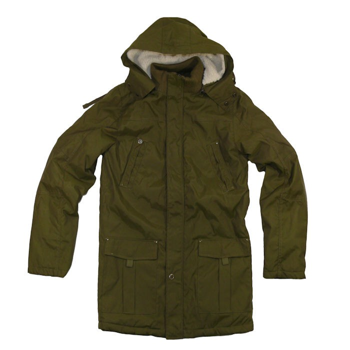 Solid-Herren-Parka-Pas-army-olive
