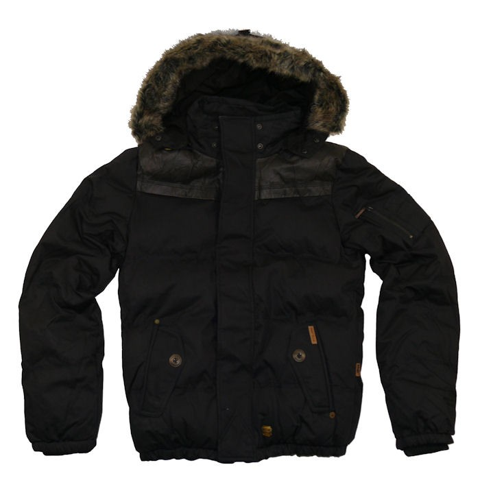 khujo herren winterjacke frankfurt ii navy ebay. Black Bedroom Furniture Sets. Home Design Ideas