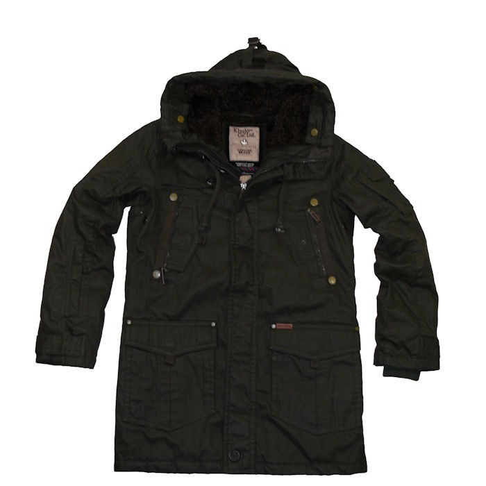 khujo herren winter jacke parka notos new olive ebay. Black Bedroom Furniture Sets. Home Design Ideas