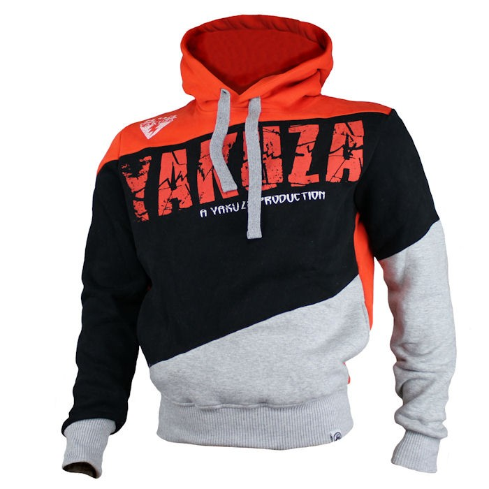 yakuza ink herren sweatshirt striped yh 1240 mandarin. Black Bedroom Furniture Sets. Home Design Ideas