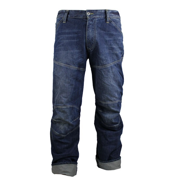 g star herren jeans elwood loose rugby wash ebay. Black Bedroom Furniture Sets. Home Design Ideas